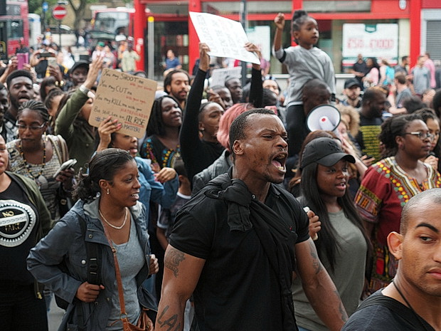 In Photos: Black Lives Matter, campaigners take to the streets of Brixton, Saturday 9th July 2016