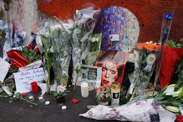 Brixton plays tribute to David Bowie on his 70th birthday, Sunday 8th January 2017
