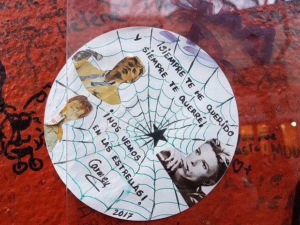 Brixton's David Bowie shrine: photos of tributes left during March 2017