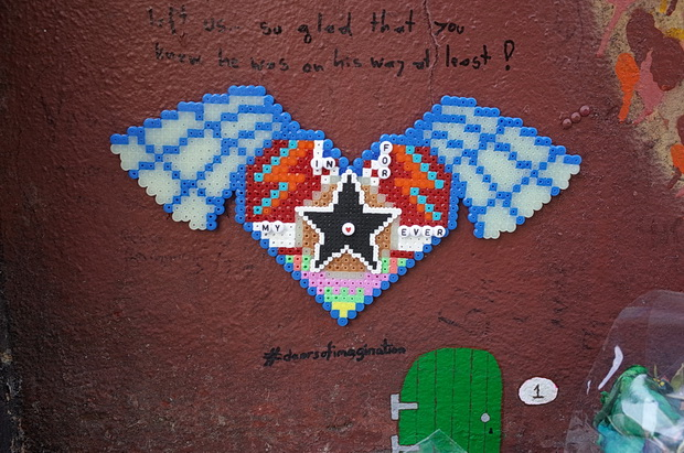 In photos: Brixton's David Bowie shrine - tributes left during August 2016