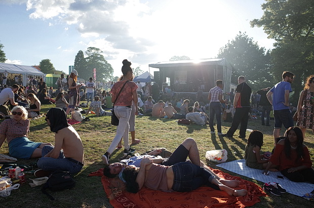 Kids, accordions, sun and Chucklehead queues: Brixton Country Show 2016, July 2016