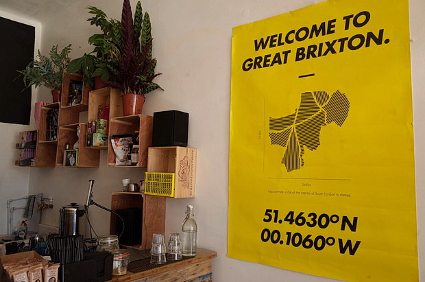 Brixton Pound opens up cafe and community space in Atlantic Road, Brixton, London, July 2016