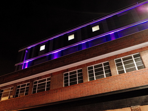 Brixton's new Premier Inn turns out to be a purple glowing eyesore, May 2016