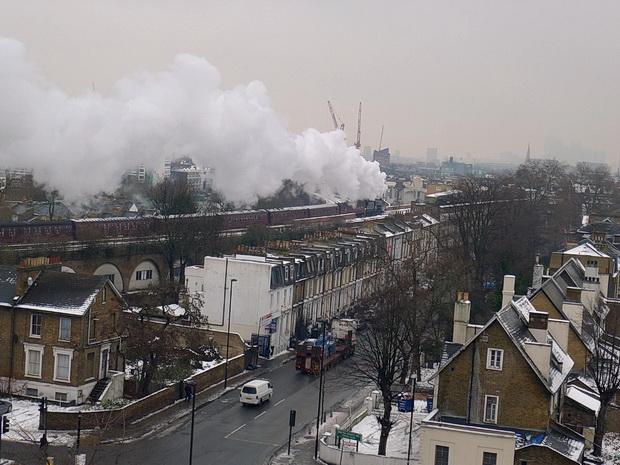 Brixton snow scenes