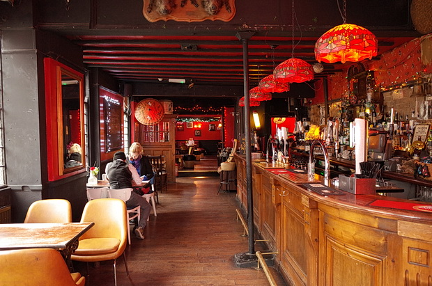 A look around the delightfully retro Brown Derby pub in Kennington, south London, February 2015