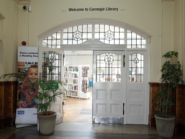 A look around the delightful Carnegie Library, Herne Hill Road, south London