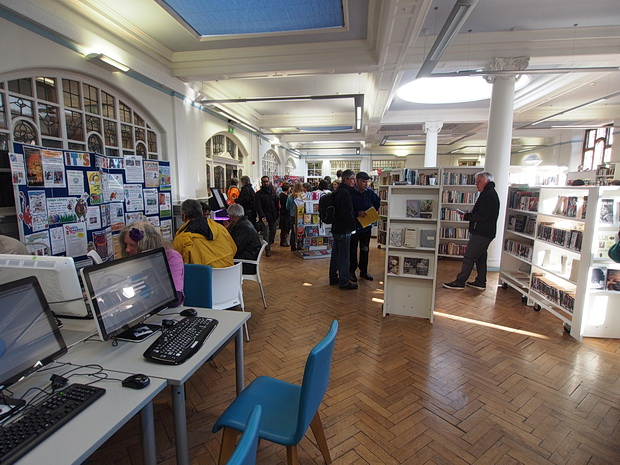 In photos - Carnegie Library Occupation, Thursday 31st March 2016