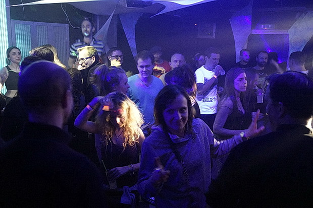 One night in Brixton: having it large at the Club 414 - Saturday 30th January 2016