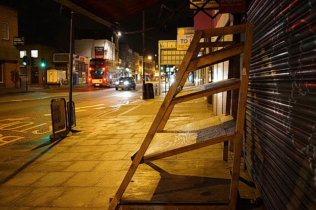 In photos: Coldharbour Lane to Camberwell on a Thursday night, February 2-17