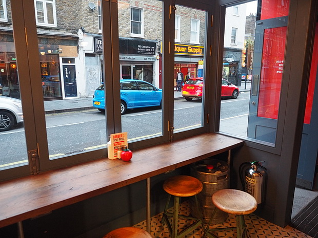 Dirty Burger Brixton review , June 2016