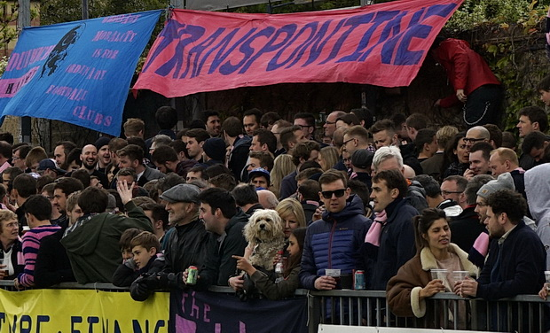Dulwich Hamlet secure play off place despite disappointing 0-1 defeat to bottom club Grays Athletic, Monday 17th Aptil 2017