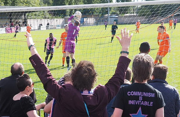 Dulwich Hamlet hit 2 past Lewes at Champion Hill as the crowds continue to grow, Saturday 23rd  August 2014
