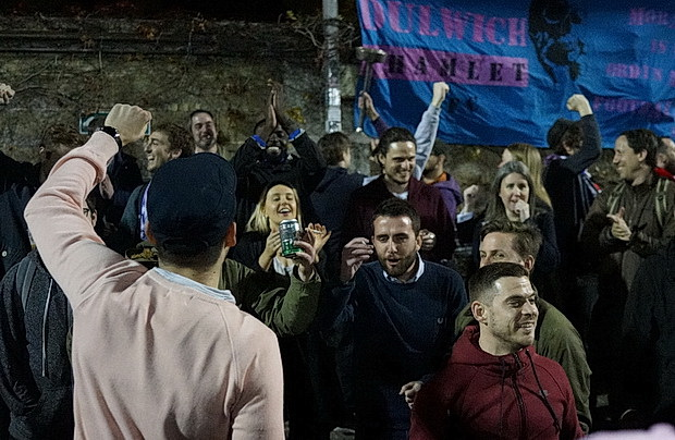 Dulwich Hamlet thump rivals Tooting & Mitcham 3-1 to progress to cup semi finals, Thurs 6th April, 2017
