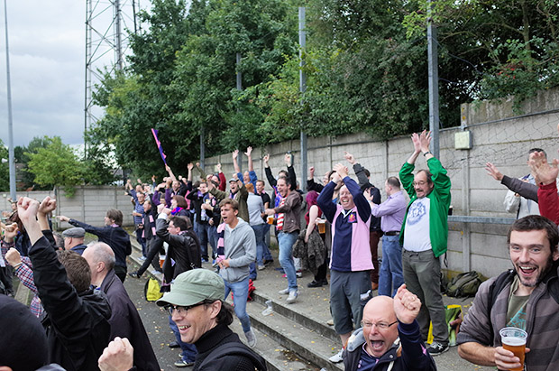 Dulwich Hamlet 4 Lewes 2, Champion Hill stadium, Edgar Kail Way, London SE22 8BD, 5th October 2013