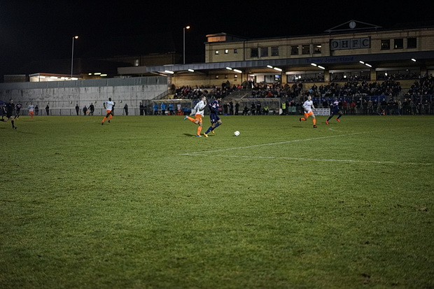 Cup shock as Dulwich Hamlet crush National League Braintree Town 5-2 to progress to FA Trophy quarter finals, Tuesday 7th February 2017