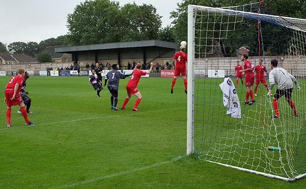 Dulwich Hamlet 6 Shoreham Town 0, FA Cup, Sat 14th September 2013