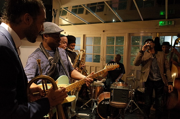 In photos: Old school Brixton vibes at the Effra Hall Tavern's live jazz night, Brixton, London SW9,