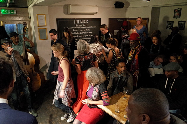 In photos: Old school Brixton vibes at the Effra Hall Tavern's live jazz night, Brixton, London SW9, October 2016