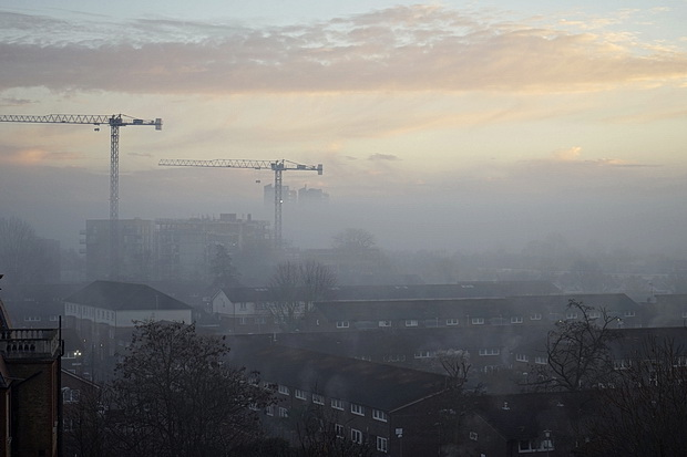 A Foggy Day (In Brixton Town), Weds 28th December 2016