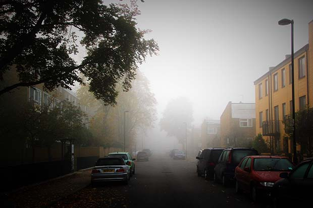 A foggy Sunday around Brixton - in pictures - Sunday 1st November 2015