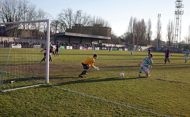 Dulwich Hamlet 1 VCD Athlletic 1, Saturday 7th March 2015, Champion Hill, south London