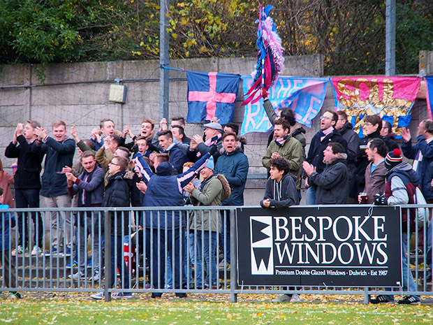 Dulwich Hamlet 1 Wealdstone 4, Champion Hill, south London, Saturday 30th November 2013