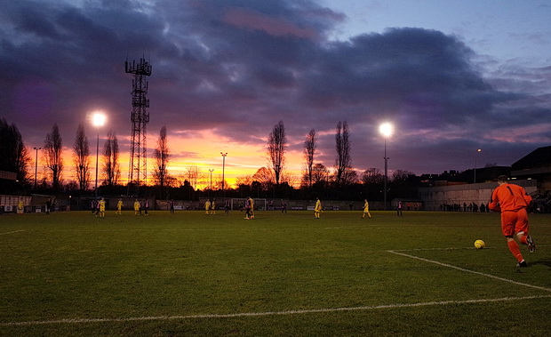 Dulwich Hamlet 1 Witham Town 0, Champion Hill, south London, Saturday 20th December 2014
