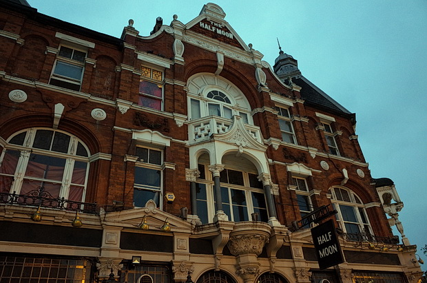 Photos - an evening stroll around Herne Hill, south London, September 2014