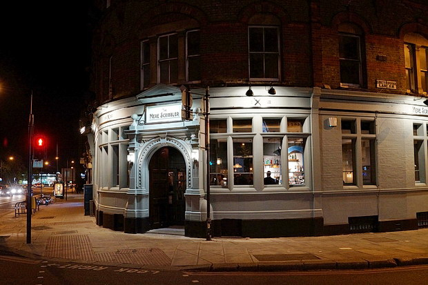 In photos: The Mere Scribbler pub in Streatham opens up for business, 19th April 2017