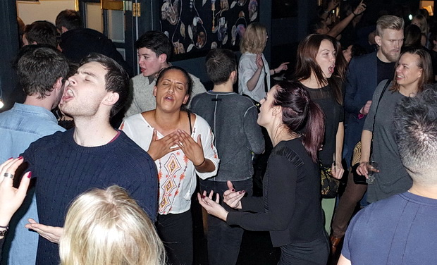 In photos: Brixton's Offline Club bring the party to Market House, Coldharbour Lane, SW9, Friday 25th November 2016