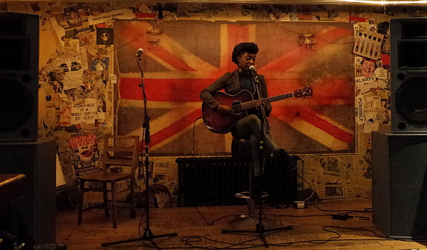 Open Mic Night at the Queen's Head, Stockwell Road, south London