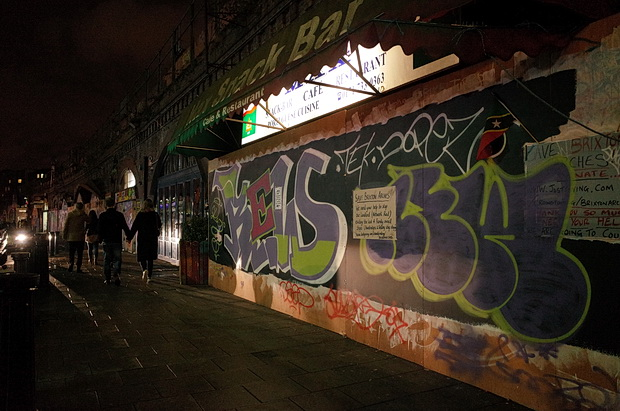 The silence of Station Road: Brixton arches after the evictions, October 2016