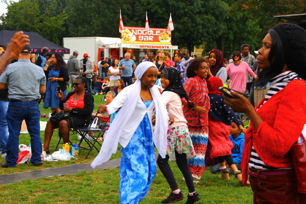 Photos from the Stockwell Festival 2014, Larkhall Park, Stockwell, London SW8, Sat 13th September 2014