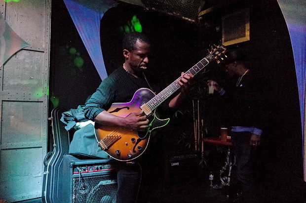 In photos: Busy night at Club 414's Sunday jazz jam, 418 Coldharbour Lane, Brixton, London SW9,