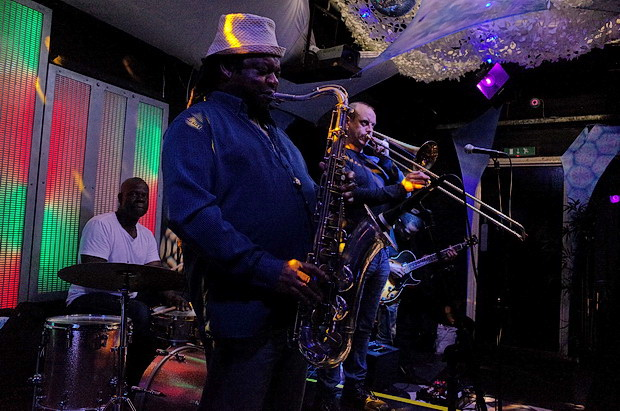 In photos: Busy night at Club 414's Sunday jazz jam, 418 Coldharbour Lane, Brixton, London SW9, October 2016