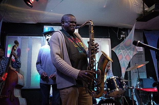 We love Sunday night - live jazz and reggae at the 414 in Brixton