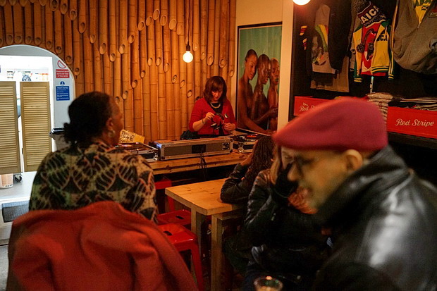A Wednesday night in Brixton: Three Little Birds and Prince Albert, Coldharbour Lane, SW9