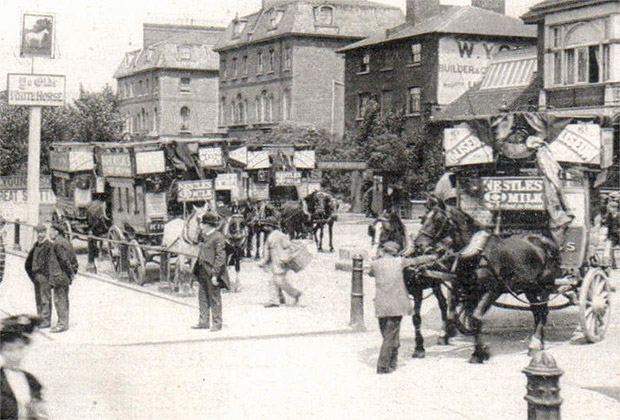 Brixton White Horse - now known as Brixton Jamm - in Edwardian times