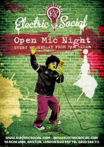 Open Mic Night at Electric Social: Open Mic @ Electric Social | London | United Kingdom