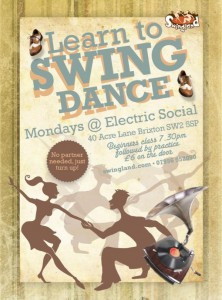 Learn To Swing Dance at Electric Social: Swing Dance Classes @ Electric Social | London | United Kingdom