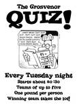 Quiz Night at The Grosvenor: Pub Quiz @ Grosvenor | United Kingdom