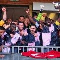 Dulwich Hamlet win promotion as the Champion Hill stadium goes wild!