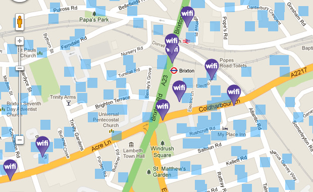 Free wi-fi in Brixton - locations, updates, tips