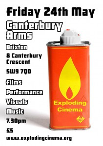 Exploding Cinema @ Canterbury Arms | London | United Kingdom