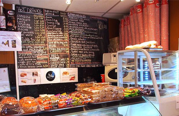 Grab & Go Cafe, Atlantic Road, Brixton