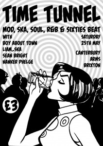 Time Tunnel - Mod, Ska, Soul, R&B & 60s Beat @ Canterbury Arms | London | United Kingdom