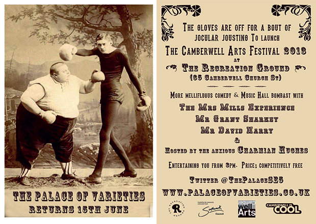 Gig of the weekend: Camberwell Arts festival with the Mrs Mills Experience, Sat 15th June