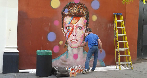 Brixton gets a Bowie mural