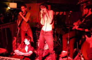 Fat White Family, Telegram, Ben Wallers , Phobophobes, Meat Raffle. DJs, John Doran, Charlie Boyer & The Voyeurs: Palestinian benefit @ Queens Head  | London | United Kingdom