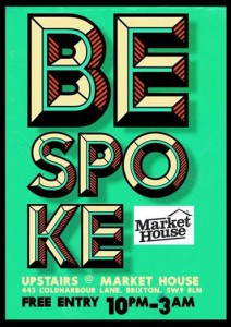 BEspoke (upstairs) @ Upstairs at Market House | London | United Kingdom
